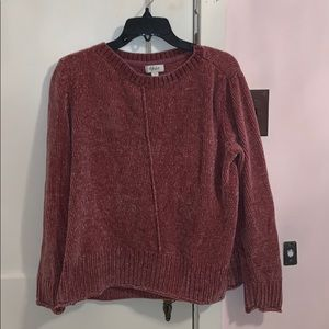 style and co magenta pullover sweater